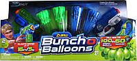 X-Shot Набор водных бластеров Bunch Oballoons (2 вида оружия, 4 комплекта шариков, 2 сумочки, 2 насадки), ZURU