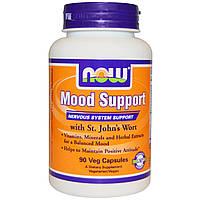 Now Foods, Витамины для поддержки нервной системы и хорошего настроения, 90 вегетарианских капсул, купить, цена, отзывы