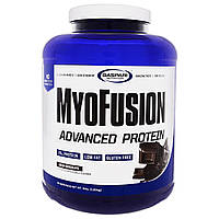 Gaspari Nutrition, MyoFusion, Advanced Protein, Milk Chocolate, 4 lbs (1.81 kg), купить, цена, отзывы