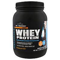 21st Century, Renourish, Sport, Whey Protein, Vanilla,32 oz (908 g), купить, цена, отзывы