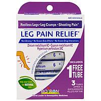 Boiron, Leg Pain Relief, 3 Tubes, 80 Quick-Dissolving Pellets Each, купить, цена, отзывы