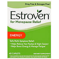 Estroven, Средство при менопаузе, энергия, 40 капсул, купить, цена, отзывы