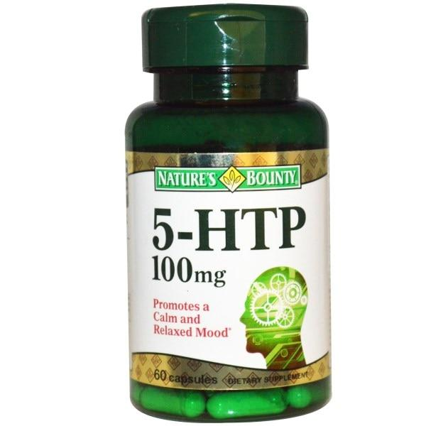 Natures Bounty, 5-гидрокситриптофан, 200 мг, 60 капсул