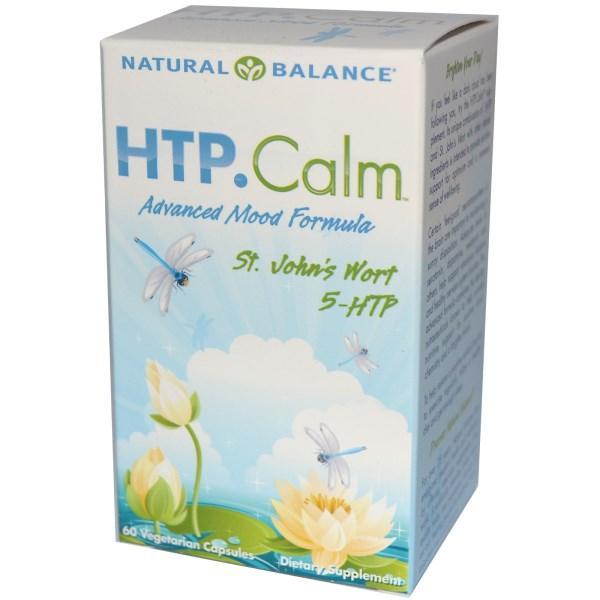Natural Balance, HTP.Calm, 60вегетарианских капсул