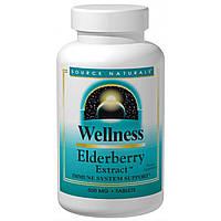 Source Naturals, Оздоровительный экстракт бузины, 500 мг, 60 таблеток, купить, цена, отзывы