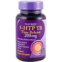 Natrol, 5-HTP TR, Time Release, 200 мг, 30 таблеток