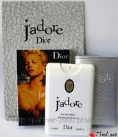Christian Dior J`Adore 20 ml Мини парфюмерия в кожаном чехле