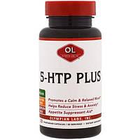Olympian Labs Inc., 5-Гидрокситриптофан плюс, 30 капсул в растительной оболочке
