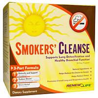 Renew Life, Smokers Cleanse, 30-дневный курс, 3-составная формула