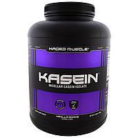 KagedMuscle, Kasein, Micellar Casein Isolate, Vanilla Shake, 4 lbs (1.8 kg), купить, цена, отзывы