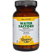 Country Life, Пищевая добавка «Факторы воды», максимальный эффект, 90 таблеток, купить, цена, отзывы