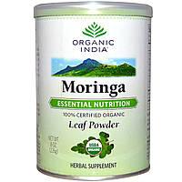 Organic India, Порошок листьев моринги, 8 унций (226 г), купить, цена, отзывы