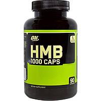 Optimum Nutrition, HMB 1000 Caps, 90 капсул, купить, цена, отзывы
