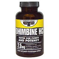 Primaforce, Иохимбин HCL, 2,5 мг, 90 вегетарианских капсул, купить, цена, отзывы