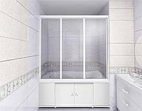 Штора на ванную раздвижная Классик 170 (Волны) купить
