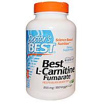 Doctor's Best, L-Carnitine Fumarate with Biosint Carnitines , 855 mg, 180 Veggie Caps