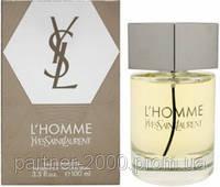 """Туалетная вода Yves Saint Laurent """"L`Homme"""" 100ml"""