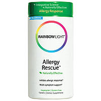 Rainbow Light, Allergy Rescue (помощь при аллергии), 60 таблеток, купить, цена, отзывы