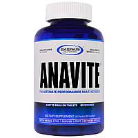 Gaspari Nutrition, Anavite, лучший поливитамин для производительности, 180 таблеток, купить, цена, отзывы