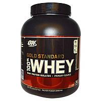 Optimum Nutrition, 100% сыворотка, золотой стандарт, двойной шоколад, 5 фунтов (2,27 кг), купить, цена, отзывы