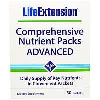 Life Extension, Полные комплексы питательных веществ, расширенные, 30 пакетов, купить, цена, отзывы