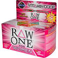 Garden of Life, Чистые витамины для женщин, 75 ультраабсорбирующихся капсул на растительной основе, купить, цена, отзывы