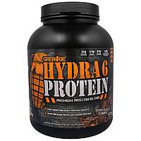 Grenade, Hydra 6 Протеин, Первосортная Белковая Смесь, Шоколадное Наслаждение, 4 фунта (1814 г), купить, цена, отзывы