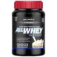 ALLMAX Nutrition, AllWhey Classic, Белковая Смесь с Изолятом Сывороточного Протеина, Французская Ваниль, 2 фунта ( 907 г), купить, цена, отзывы