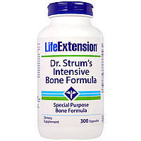 Life Extension, Dr. Strum's Intensive Bone Formula, 300 Capsules, купить, цена, отзывы