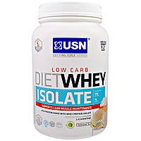 USN, Cutting Edge Series, диетический изолят сывороточного протеина, низкие углеводы, ваниль, 1.54 фунта (700 г)
