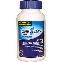 One-A-Day, One A Day для мужчин, состав для здоровья мужчин, 200 таблеток, купить, цена, отзывы