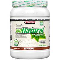 ALLMAX Nutrition, IsoNatural, 100% Ultra-Pure Natural Whey Protein Isolate (WPI90), Chocolate, 15 oz (425 g), купить, цена, отзывы