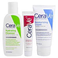 CeraVe, Система восстановления кожи, набор из 3 шт., купить, цена, отзывы