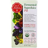 Get Real Nutrition, Пастеризованный суперсок - физическая форма, 120 г, купить, цена, отзывы