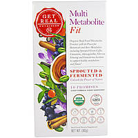 Get Real Nutrition, Мульти-метаболизм - физическая форма, 90 г, купить, цена, отзывы