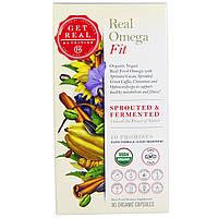 Get Real Nutrition, Настоящая Омега - физическая форма, 90 органических капсул, купить, цена, отзывы