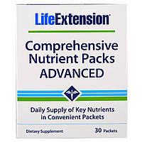 Life Extension, Расширенные пакеты питательных веществ, 30 пакетов, купить, цена, отзывы