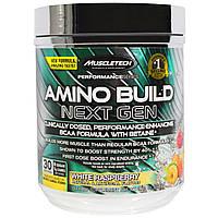 Muscletech, Смесь аминокислот нового поколения, белая малина (278 г), купить, цена, отзывы