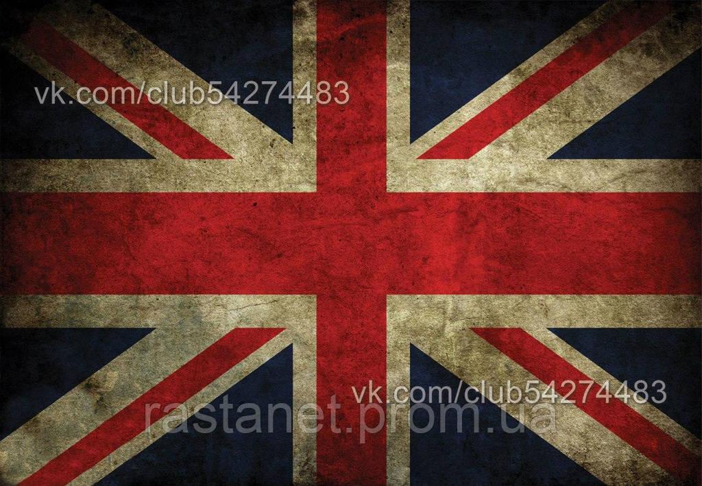"""Обложка на паспорт  """"Британский флаг"""""""