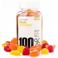 T.RQ, Мульти витамины, взрослых Gummy, Cherry Лимон Апельсин, 60 Gummies