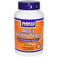 Now Foods, Men's Virility Power, 120 капсул, купить, цена, отзывы