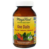 MegaFood, One Daily, 180 таблеток, купить, цена, отзывы