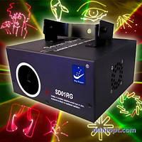 Лазерный проектор Big Dipper SD01RG (программируемый)