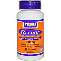 Now Foods, Релора, 300 мг, 60 растительных капсул, купить, цена, отзывы