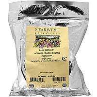 Starwest Botanicals, Плоды шиповника в порошке, органические, 1 фунт (453,6 г), купить, цена, отзывы