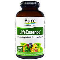 Pure Essence, LifeEssence, мультивитамины и минералы, 240 таблеток, купить, цена, отзывы