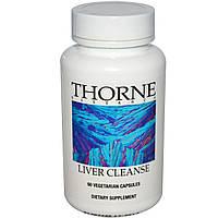 Thorne Research, Очищение печени, 60 капсул в растительной оболочке, купить, цена, отзывы