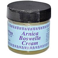 """WiseWays Herbals, LLC, Крем """"арника-босвеллия"""", 1 унц. (28 г)"""