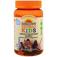 Sundown Naturals, Детские жевательные мультивитамины, Звездные войны, со вкусом ягод, малины и ананаса, 60 штук, купить, цена, отзывы