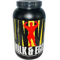 Universal Nutrition, Молочный и яичный белок, со вкусом шоколада, 3 фунта (1,36 кг), купить, цена, отзывы